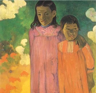 Piti Teina (Two Sisters), 1892