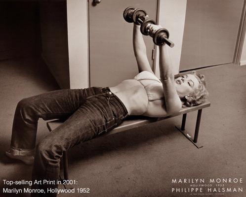 Top-Selling Art Print in 2000: Marilyn Monroe, Hollywood 1952