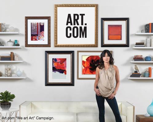 Art.com We are Art Campaign.