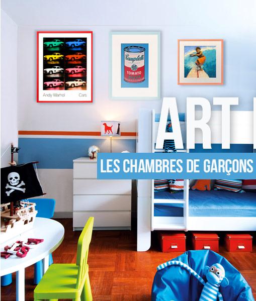 ART POUR - Les Chambres De Garçons