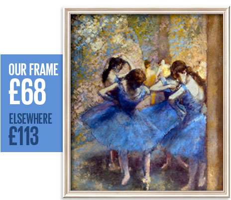 Our frame: &pound;68 - Elsewhere: &pound;113