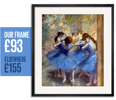 Our frame: &pound;93 - Elsewhere: &pound;155