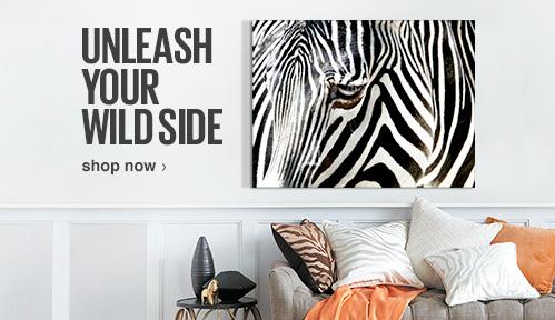 Unleash your wild side. Shop Now.
