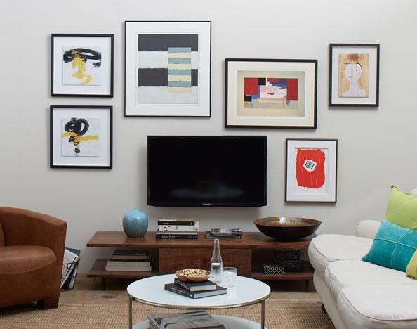 conseils et id es de d coration murale pour toutes les pi ces de la maison sur. Black Bedroom Furniture Sets. Home Design Ideas
