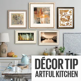 Decor Tip - Artful Kitchen