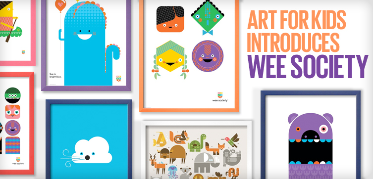 Art For Kids introduces Wee Society