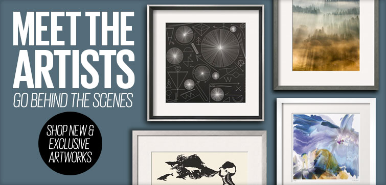 Meet the artists - Go Behind the scenes - Shop New & Exclusive artworks.