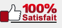 100% Satisfait