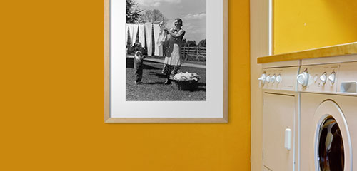 Laundry Room Decorating Ideas Wall Art For Every Color