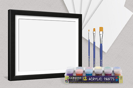 Try one of our new art kits!