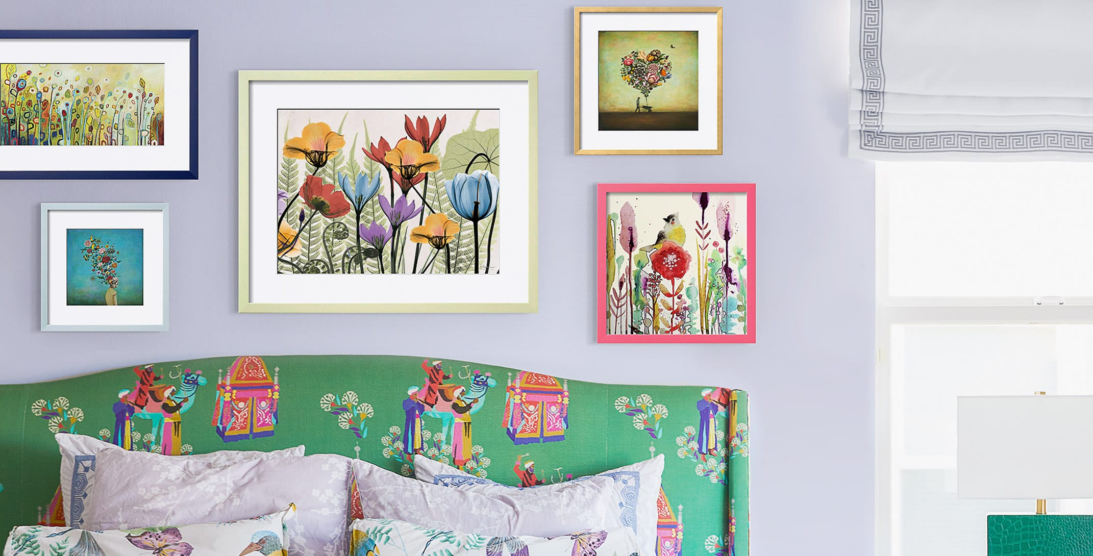 Step into spring with botancial art that's bright and beautiful.