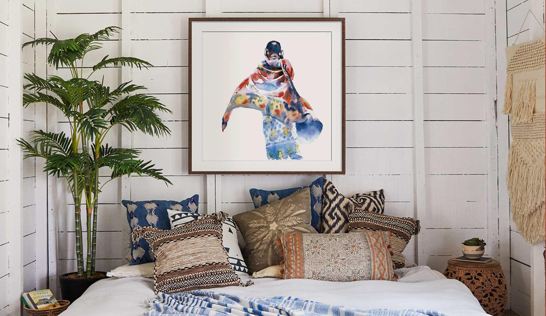 Groovy bohemian art for a whole new generation.