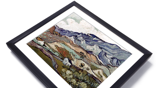 Framed Art: Beautifully crafted. Ready to hang.