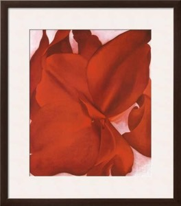 Georgia O'Keeffe, Red Cannas