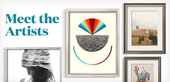 Handmade serigraphs, traditional etchings, modern giclées…start collecting before they're gone.